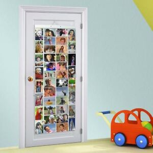 Picture Pockets Hanging Photo Frame Album Door Wall Display 80 Photos