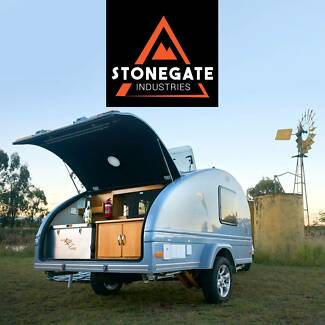 The most Feature Packed Concept in Aus. Tucana Teardrop Campers