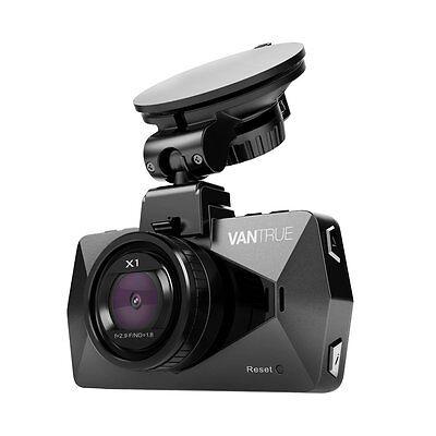 Vantrue X1 Car Dash Cam Fhd 170  Wide Angle 2 7  Lcd Video Recorder 1080P New