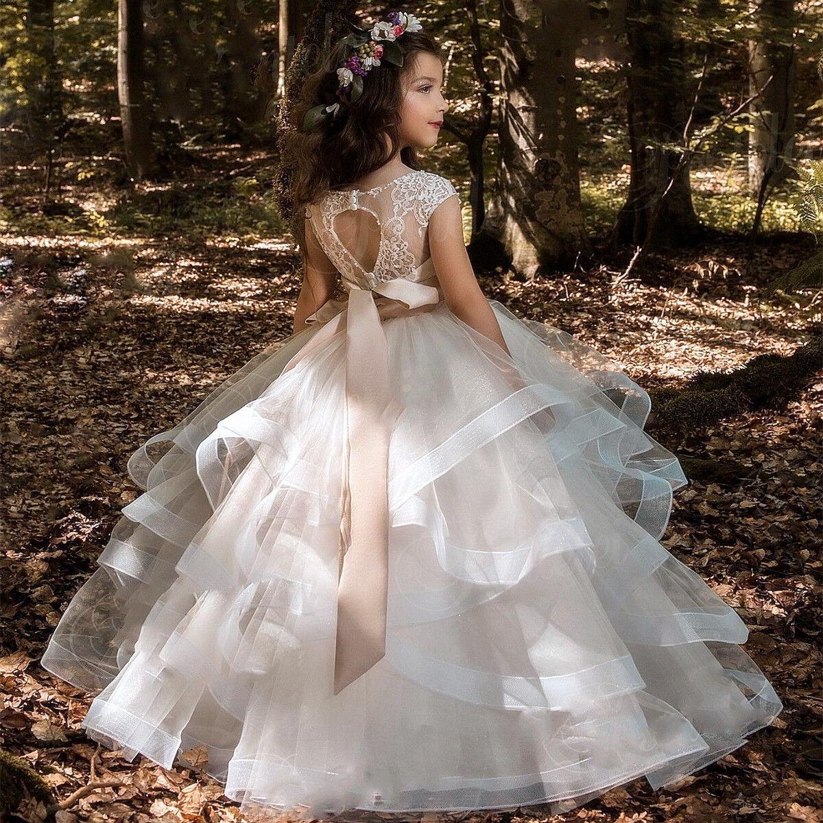 76c7f1b54a1 Couture Princess Flower Girl Dresses - Gomes Weine AG