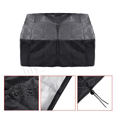Schwarz Wasserdicht Abdeckung BBQ Grill Abdeckhaube Schutzhülle Regenschutz Neu