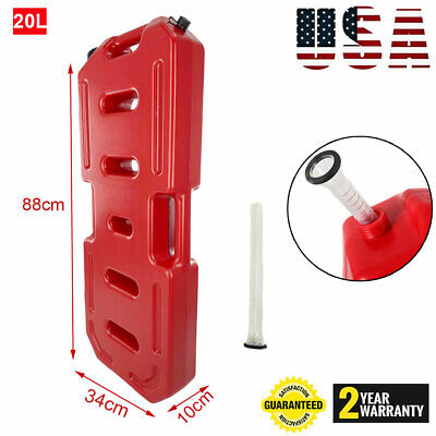 5gallon 20l Fuel Can Gas Fuel Tank Petrol Motorcyclecar Storage Container Us