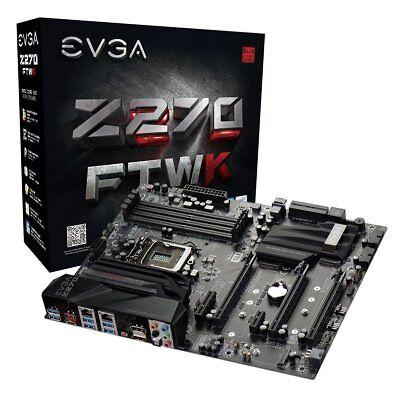 EVGA Z270 FTW K motherboard, LGA 1151, Intel Z270, HDMI, SATA 6Gb/s, USB 3.1