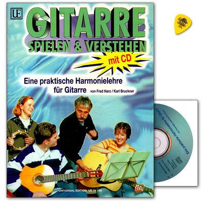 Gitarre spielen und verstehen mit CD für Gitarre - UE31100 9790008058745