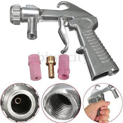 Sandblaster Air Siphon Feed Sand Blasting Blast Gun Ceramic Nozzle Tips