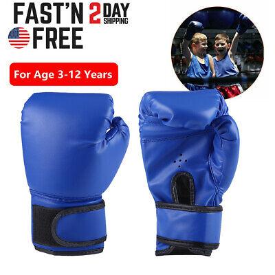 Boxing Gloves for Kids Children Training Punching Bag Kickboxing Mitts Age 3-12