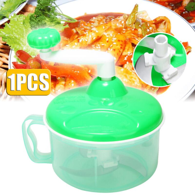 Manual Slicer Chopper Spiral Kitchen Tool Food Vegetable Mea