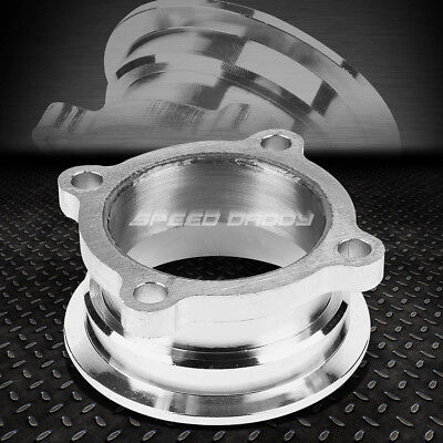 """GT35/GT30 GT TURBO 2.5"""" 4-BOLT FLANGE TO 3""""V-BAND DOWNPIPE/EXHAUST CLAMP ADAPTER"""