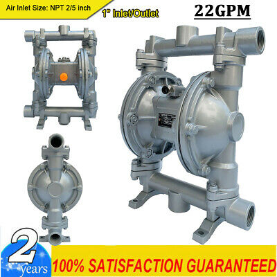 Air-operated Double Diaphragm Pump 22gpm 1 Inlet Outlet Petroleum Fluids Us