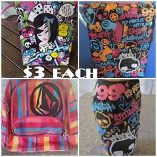 School kids - Volcom Backpack/Insulated Lunch Bags & Drink Covers Kewarra Beach Cairns City Preview