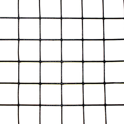3 X 50 Welded Wire Black Pvc Coated 19ga. Deer Dog Animal Fencing 1 X 1