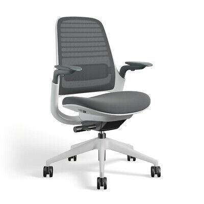 Steelcase Series 1 3d Knit Graphite New And Free Shipping