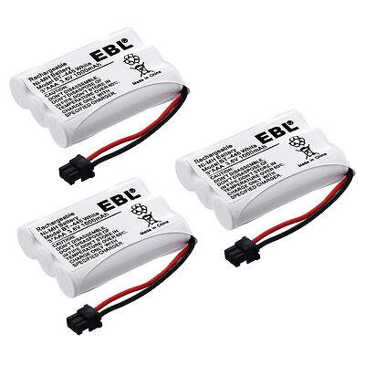 3Pack 3.6V 1000mAh Cordless Phone Battery for Uniden BT-446 BT446 BT-1005 ER-P51