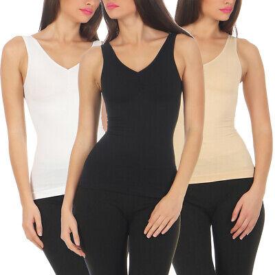 Top Shapewear (Shapewear Damen Top Formhemd Mieder Bodyformer Taillenformer  Seamless Hemd 836)