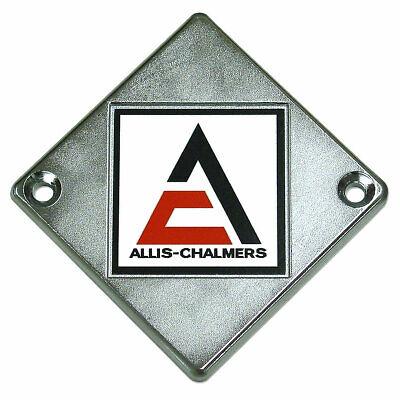 Emblem Front - Wheel D10 D12 D15 D17 D21 Ed40 Allis Chalmers Chrome  218