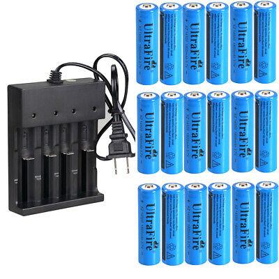 14500 Battery 1800mAh Li-ion 3.7V Rechargeable Batteries 4 Slot Smart  Charger  1800mah Li Ion Battery
