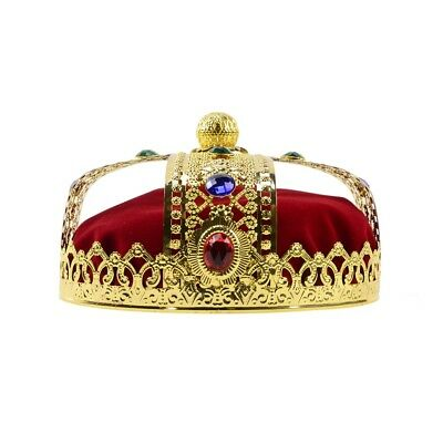 Crown Prop (Medieval Men Deluxe Crown Prom King Pageant Theater Play Prop Costume)