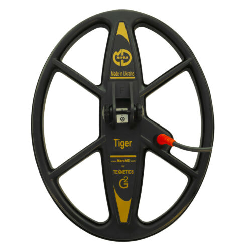 """Mars Tiger 13""""x10"""" DD WaterproofSearch Coil for Teknetics G2 Metal Detector"""