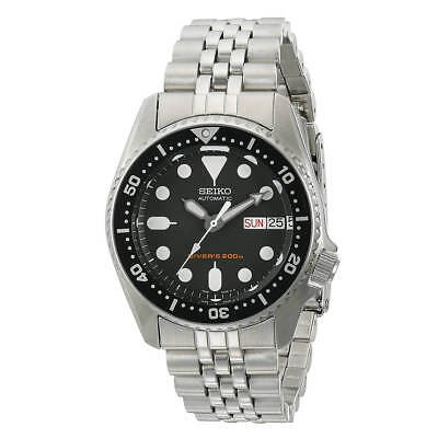 Seiko SKX013K2 Men's Scuba Diver Steel Bracelet Automatic Watch
