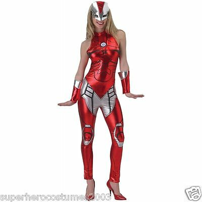 The Avengers Age Of Ultron Iron Mädchen Rescue Weibliche Kostüm XS 0-2 Marvel