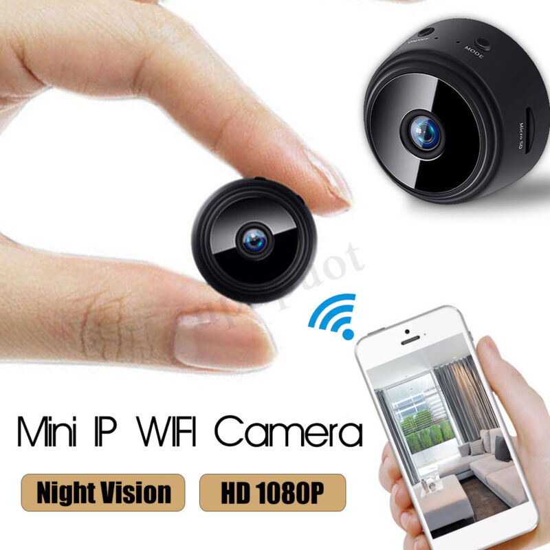 Mini Wireless Camera HD 1080P Wifi IP Home Security Camcorder For iPhone Android