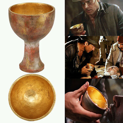 Indiana Jones Holy Grail Raiders of the Lost Ark Cosplay Costume Props Replica](Lost Costumes)