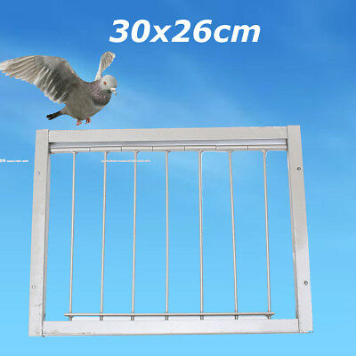 30x26cm Wires Bars Frame Racing Pigeon Entrance Fantail Trapping Door Loft Bird