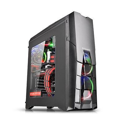 Thermaltake Versa N25 Mid Tower Atx Gaming PC Case USB 3.0