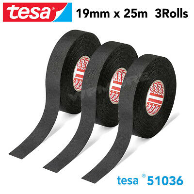Tesa 51036 Pet Cloth Wire Harness Tape For High Abrasion Protection Triple A - 3