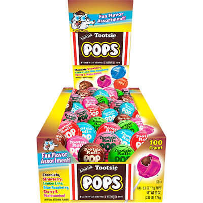 Tootsie Roll Pops, Variety Pack Bag Of Lollipops 200ct - Tootsie Roll Lollipop