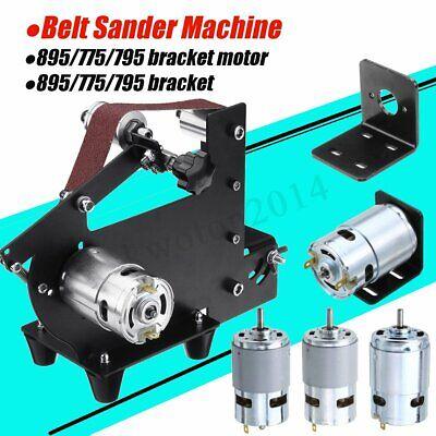 Motor Bracket Dc 12v-24v 3000-12000rpm Large Torque Gear Motor Belt Sander