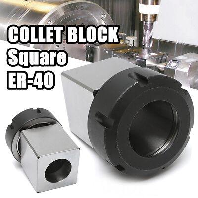 Er-40 Square Collet Chuck Block Holder 3900-5125 For Cnc Lathe Engraving Machine