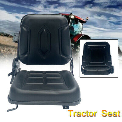 New Universal Seat Slidable For Tractorloaderexcavatorforklift Waterproof Pvc