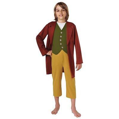 Bilbo Baggins Costume Kids The Hobbit Halloween Fancy Dress](Bilbo Halloween Costume)