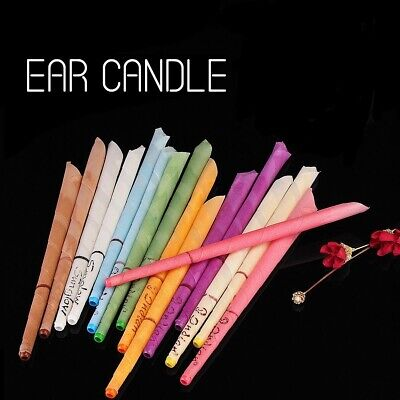 10pcs Ear Cleaner Wax Removal Candles Healthy Hollow Candle Earwax 2 dis USA