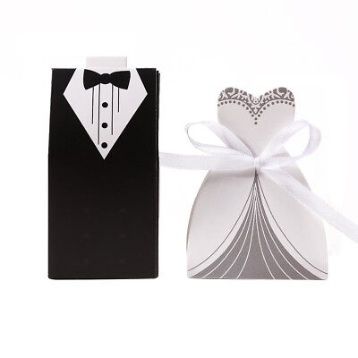 30 pairs dragee candy Box groom + bride  for Wedding S1Q2