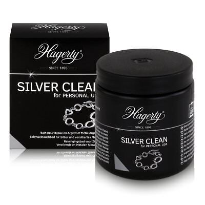 HAGERTY SILVER CLEAN Silver Plate Cleaner Jewellery Cleaning Dip  Hagerty Silver Dip