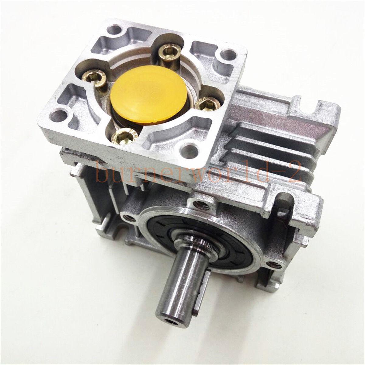NEMA23-030 Worm Gear Speed Reducer NEMA23 Ratio 10 25 30 40 50:1 Stepper motor