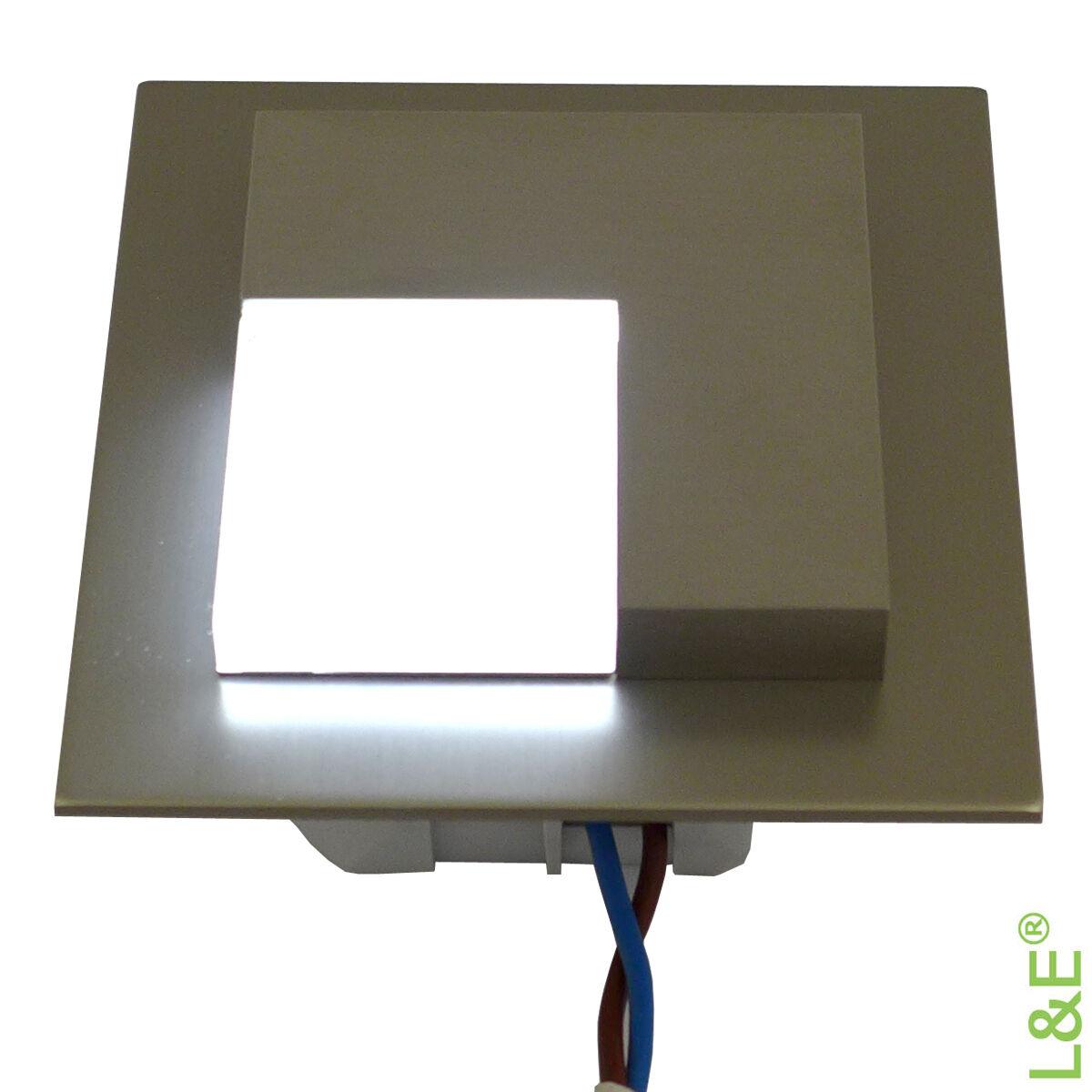 timo 230v edelstahl led treppenbeleuchtung wandbeleuchtung. Black Bedroom Furniture Sets. Home Design Ideas