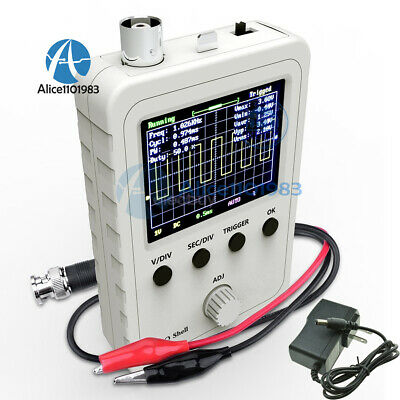 Assembled Dso150 Digital Oscilloscope 2.4 Inch Lcd Display With Probe Clip