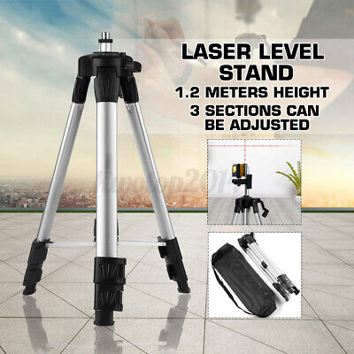 Adjustable Light Weight Tripod Leveling Stand Rotary Laser Level Line Cross