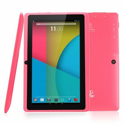 "DRAGON TOUCH Pink 7"" Android TABLET 8GB Quad Core WiFi Y88X PK Complete In Box !"