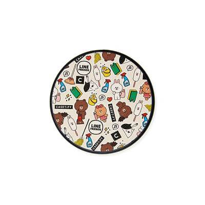 LINE FRIENDS X CASETiFY Spring Clean Wireless Charging Pad Official Goods