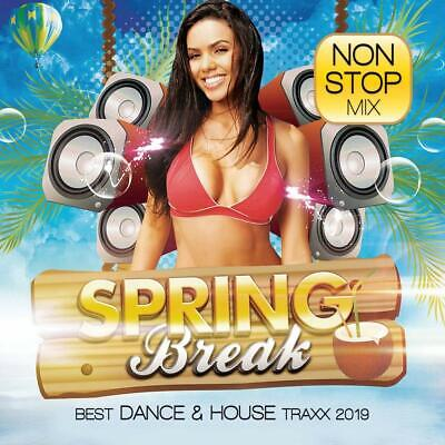 SPRING BREAK 2019-BEST DANCE AND HOUSE TRAXX - DEBRIS/MESTO/+  CD