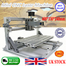 DIY Mini 3 Axis 3018 CNC Machine Pcb Milling Wood Router Engraver Printer IN UK