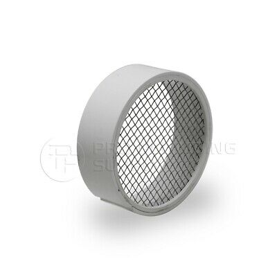 Raven R1508 Pvc Termination Vent Stainless Screen W Condensation Slot - 2 Inch