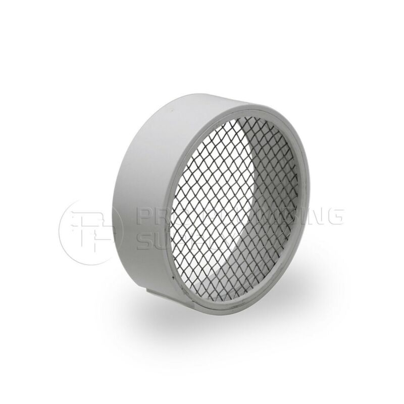 Raven R1508 PVC Termination Vent Stainless Screen w/ Condensation Slot - 2 Inch