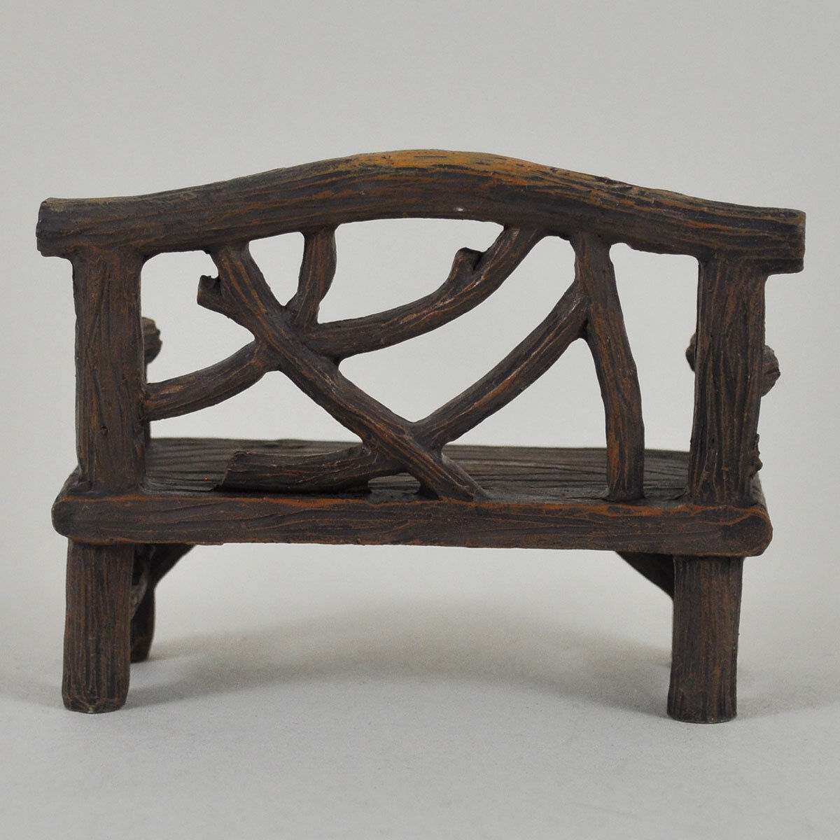 Mini Fairy Garden Bench Chair Miniature Decor Pixie Elf Magic Accessory 39602