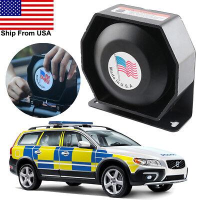 150DB 200 Watt Siren PA Horn Speaker Loud Police Warning Signal Car Alarm System for sale  USA