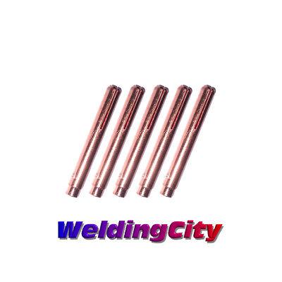 (5-pk TIG Welding LONG Collet 13N23L 3/32